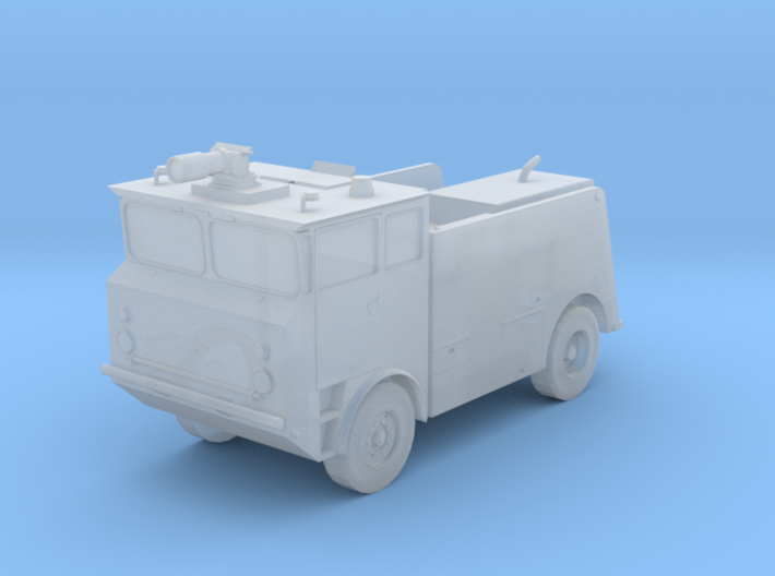 1:144 Scale Oshkosh MB-5 Navy Fire Truck (Updated! 3d printed
