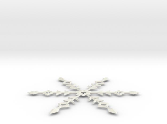 Snowflake Ornament 3d printed