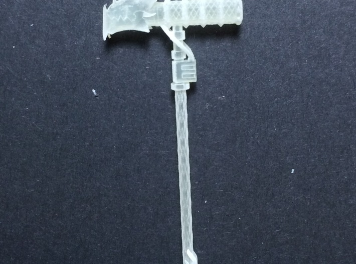 Deathwing Hammer 3d printed