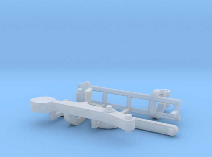 """Parts for the """"Cube"""" marble run 3d printed"""
