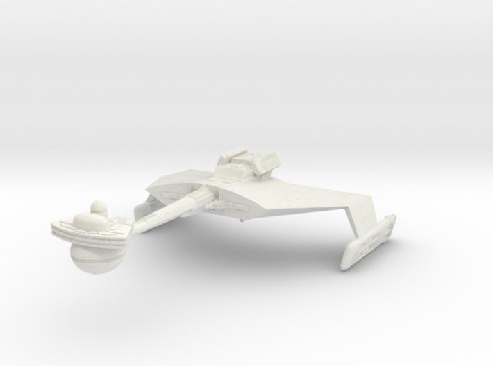K't'inga D7 Battlecruiser 3d printed