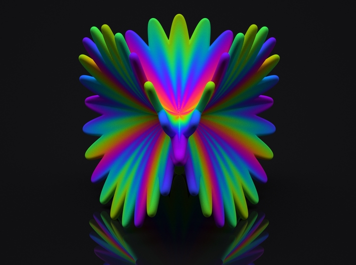 Spectral Flower 3d printed Spectral Flower Preview