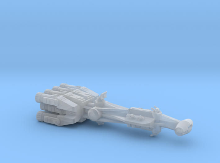 Rebellious Spaceship, 1:2700 3d printed