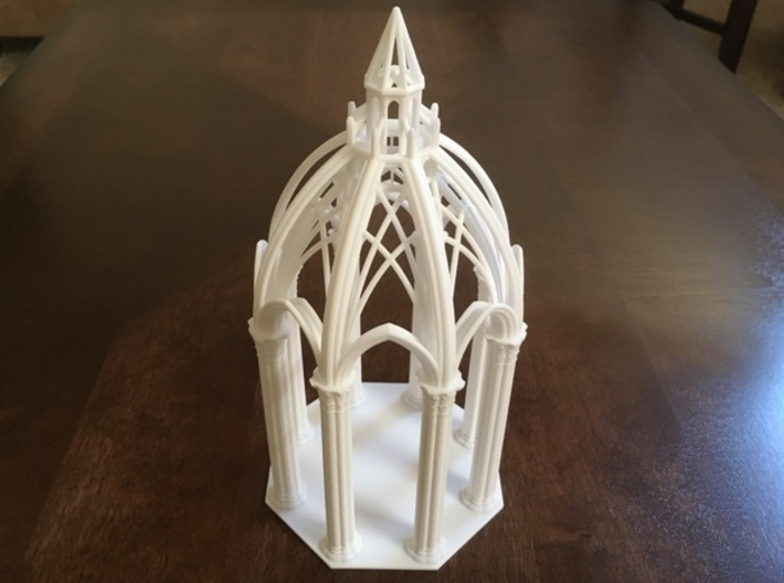 Gothic Chapel 2&3 Base 3d printed Base with Chapel 3 top