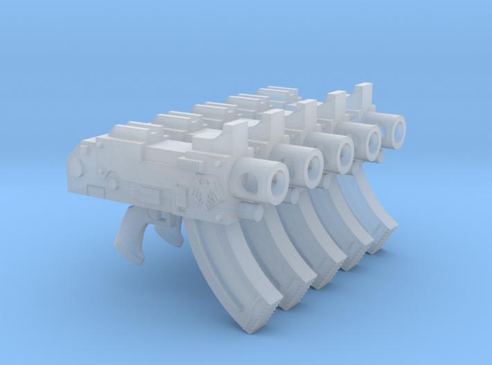 Space Ravens Mk87 Thunderbolt Pistols 3d printed
