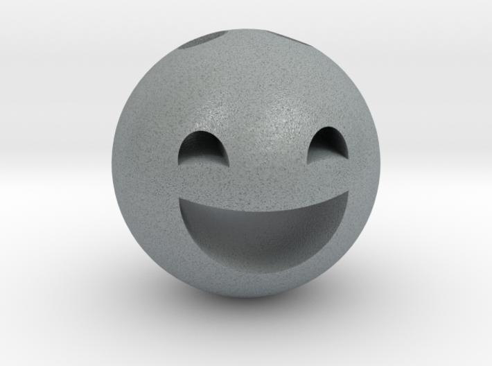 Keychain Smile 3d printed