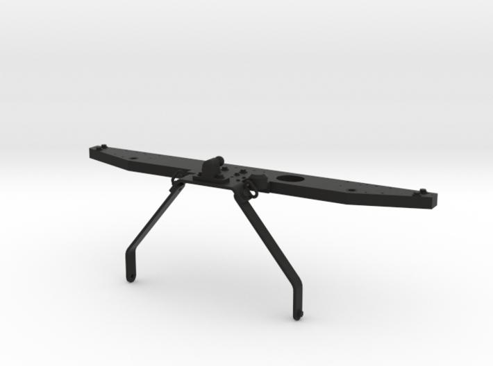 Rear bumper with towbar D90 D110 Team Raffee 3d printed