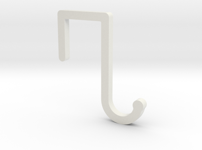 Cubicle Coat Hanger 3d printed