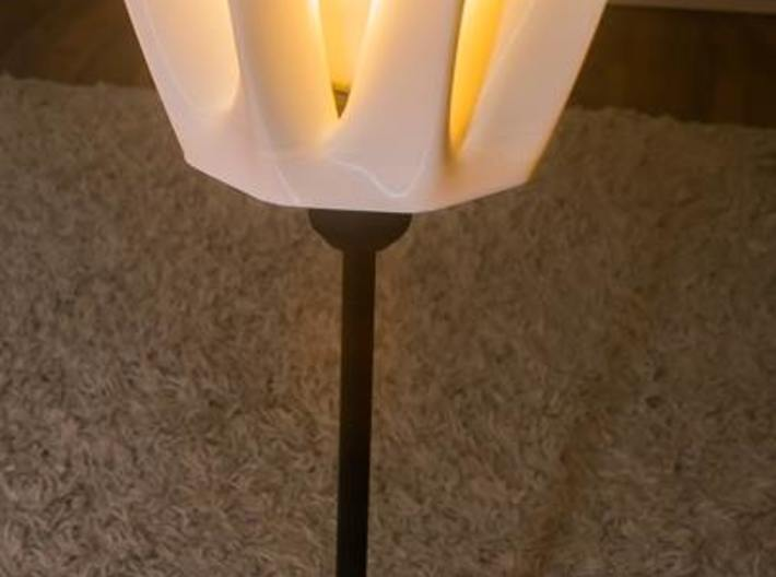 The Tulip Lamp shade 3d printed