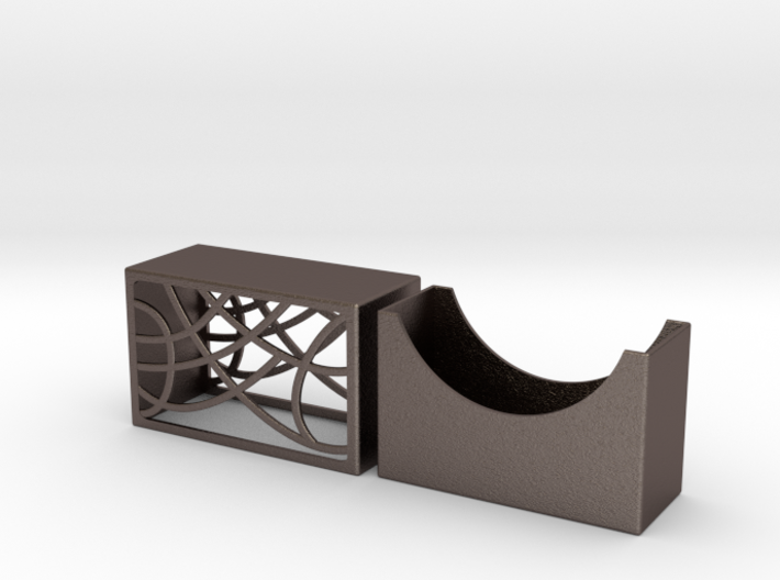 Elite Arches Business Card Holder by Spaid Designs 3d printed