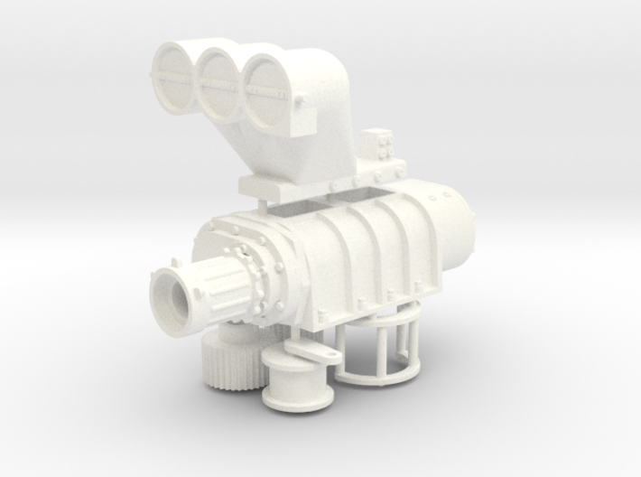 14-71 1/12 Blower with scoop 3d printed