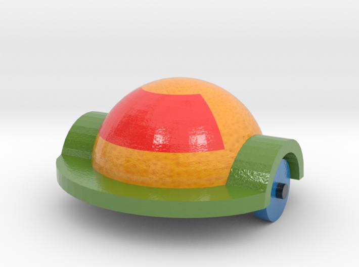 Orange Car 2 3d printed