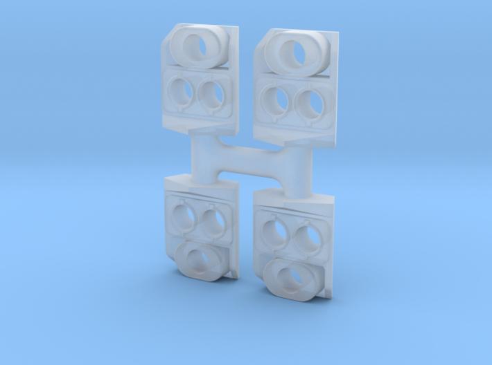 SP Front Nose Light (N/TT) 3d printed