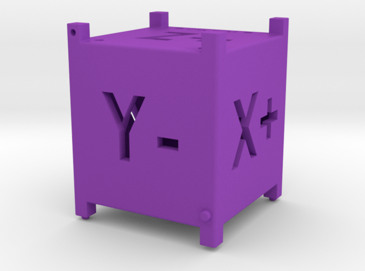 Mini Cubesat Reference Cube Model 3d printed