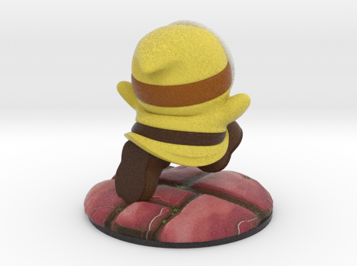 Shy Guy - Yellow (Bowser's Legion #1) 3d printed