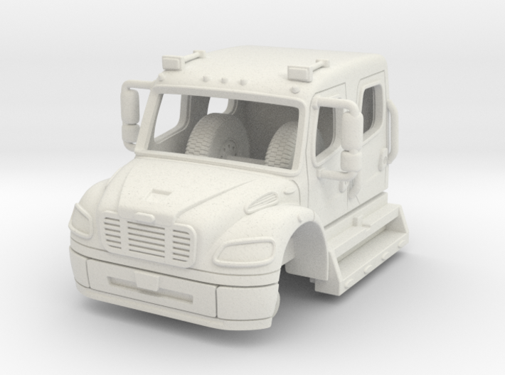 1/87 Freightliner Crew Cab 3d printed