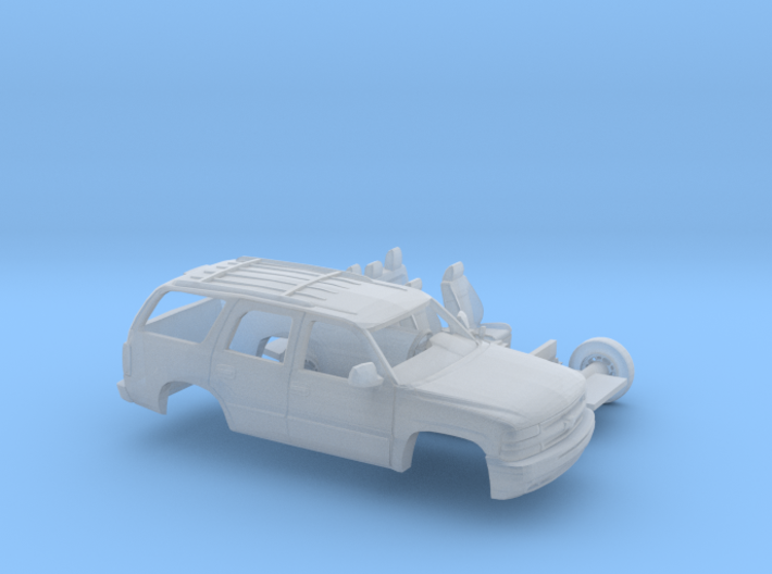 1/87 2000 Chevrolet Tahoe Kit 3d printed