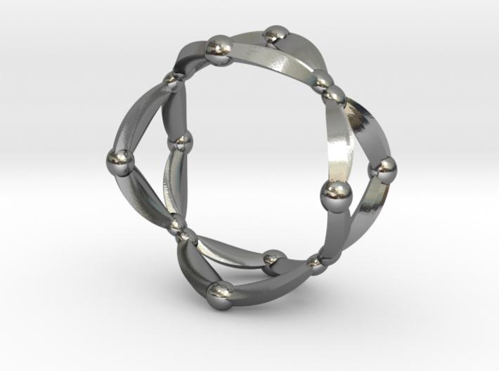 Symmetry Ring 3d printed