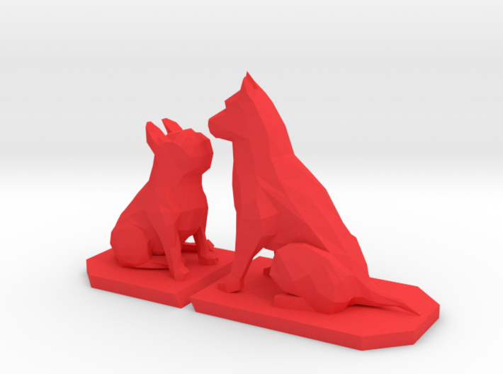 Frenchie & Sheppard 3d printed