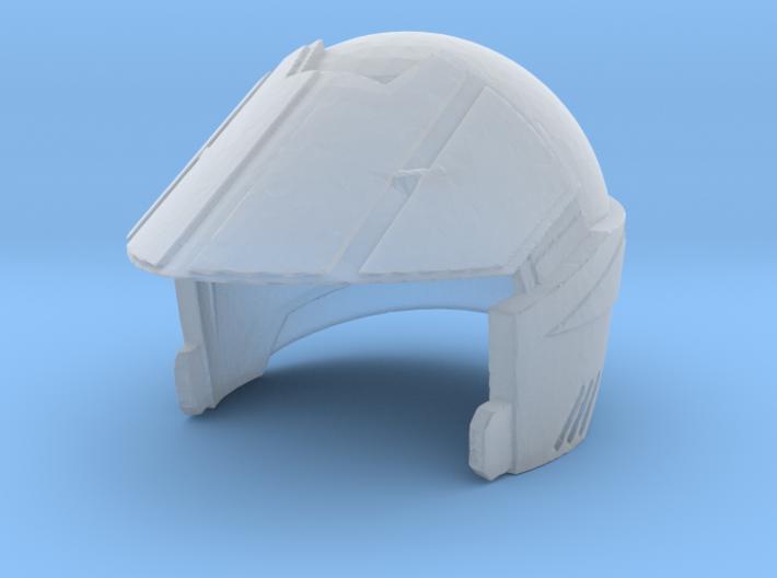 1/20 Macross Valkery Pilot Helmet 3d printed