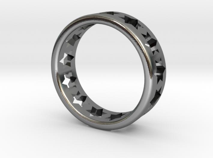 Star of David Ring 3d printed
