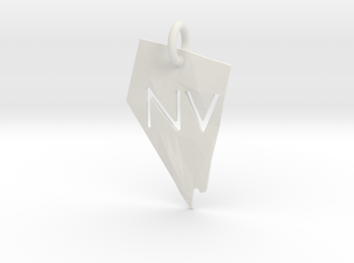Nevada State Pendant 3d printed