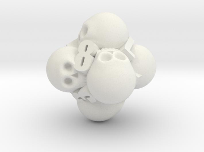 Ossuary d8 3d printed