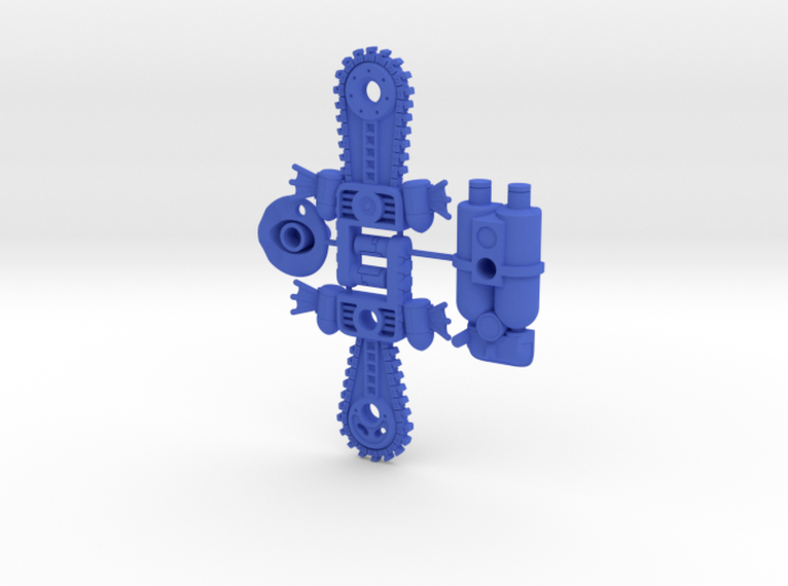 BMOG Chainbill Splatterpus 4-part Kit 3d printed