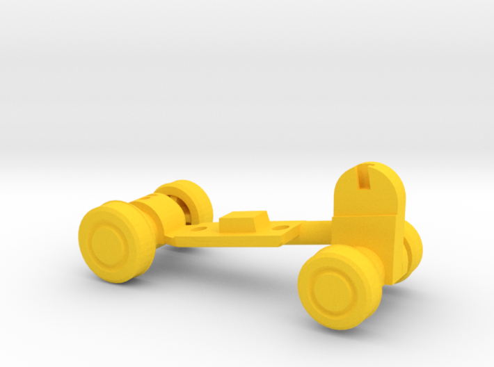 Chainsaw Car, Prize Size, Part B (Undercarriage) 3d printed