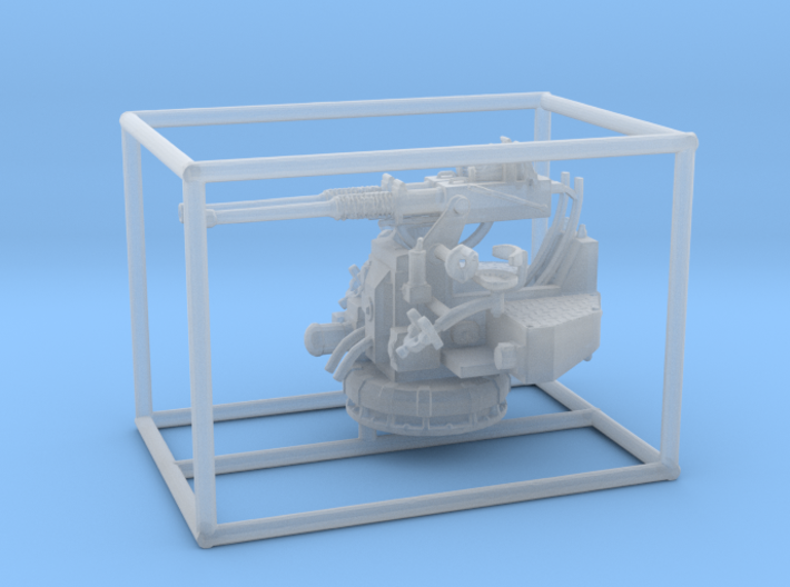 1/144 USN 40mm Bofors Twin Mount 3d printed