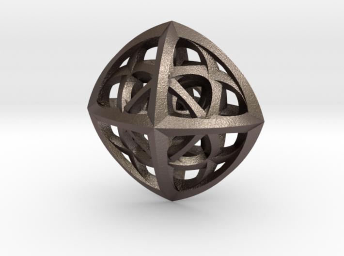 Octaplex Pendant 3d printed