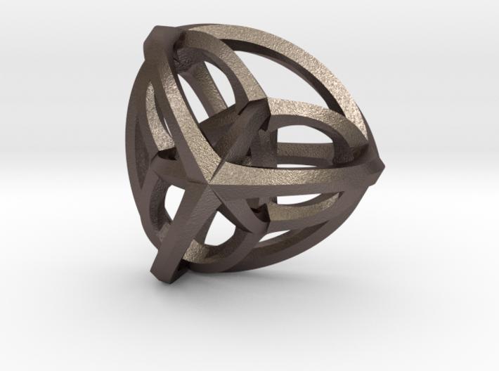 Orthoplex Pendant 3d printed