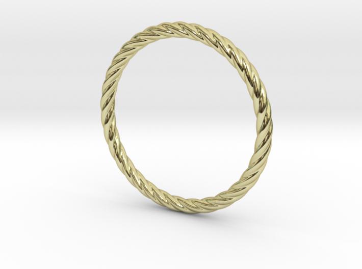 Twist Bracelet 65 3d printed