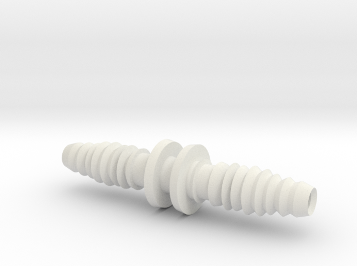 Tube connector for 10 (inner diameter) /12 (outer 3d printed