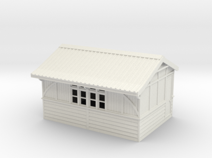 LM42A Beeston Tor Refreshment room 3d printed