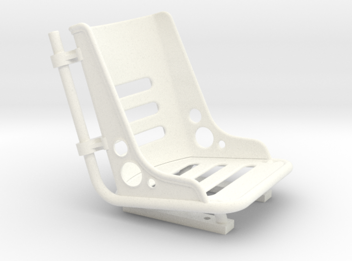 Scale Bomber Seat 3d printed