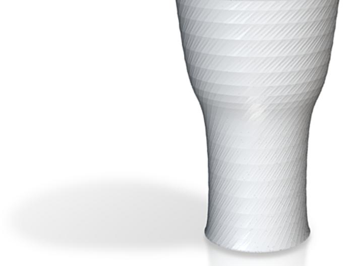 more printable twisted black cap cup 3d printed