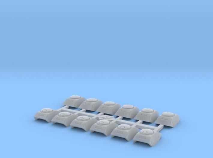 Shoulder Pads Tango 1 3d printed