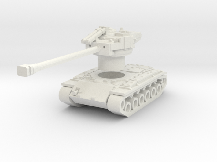 Superpershing with Rotatable turret 3d printed