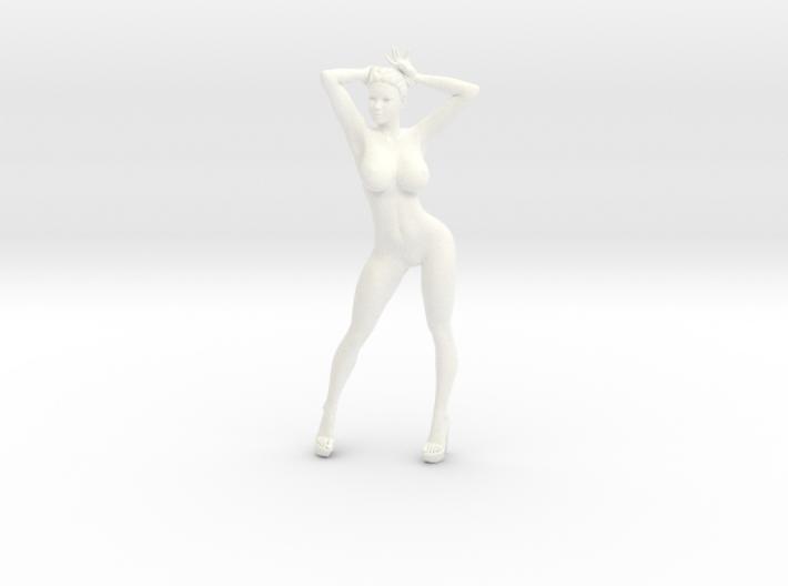 Heels girl 017 Scale 1:10 3d printed