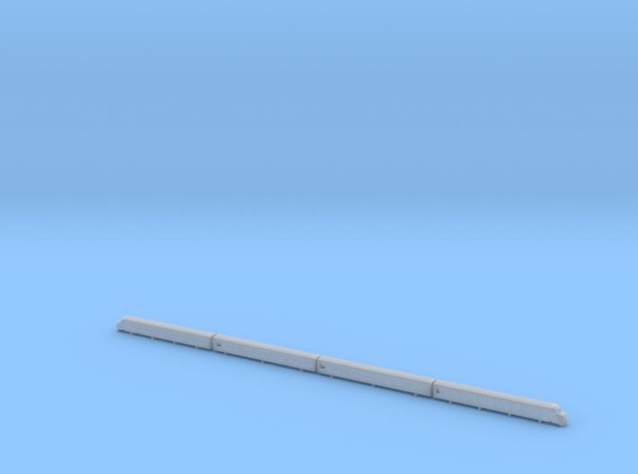 Plan T1-T3 (1:160) 3d printed
