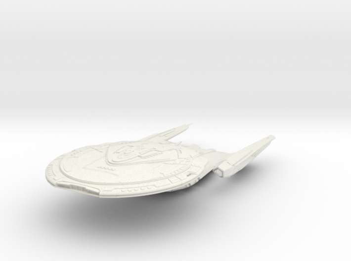 Northern Class Cruiser 3d printed