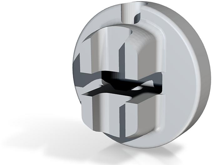 Zipper Pull Generations 3d printed