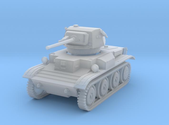 PV170D Tetrarch Light Tank (1/144) 3d printed