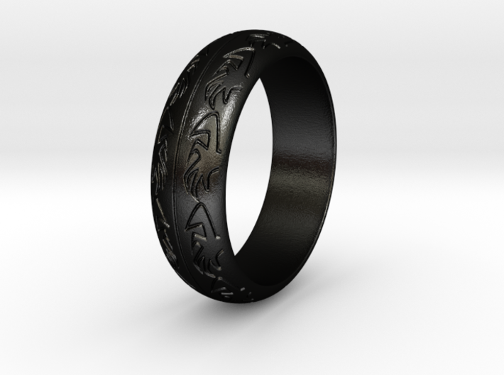 Ray F. - Ring 3d printed