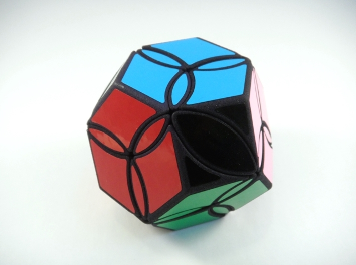 Poison Ivy Octahedron Puzzle 3d printed View 2