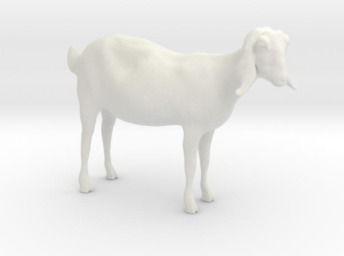 3D Scanned Nubian Goat 3cm 3d printed