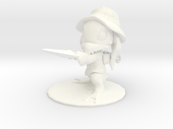 Fisherman Fizz (s) 3d printed