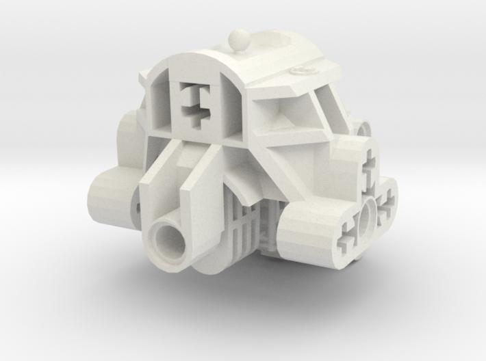 Articulated Bionicle Toa Mata Torso 3d printed