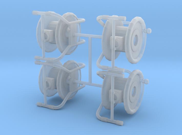 1-64 Cord Reel 3d printed